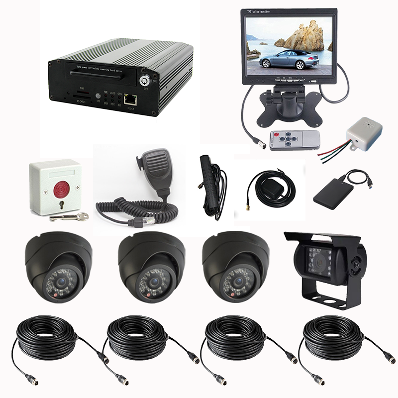 Vehicle Security Camera System 3g Live Monitoring Gps